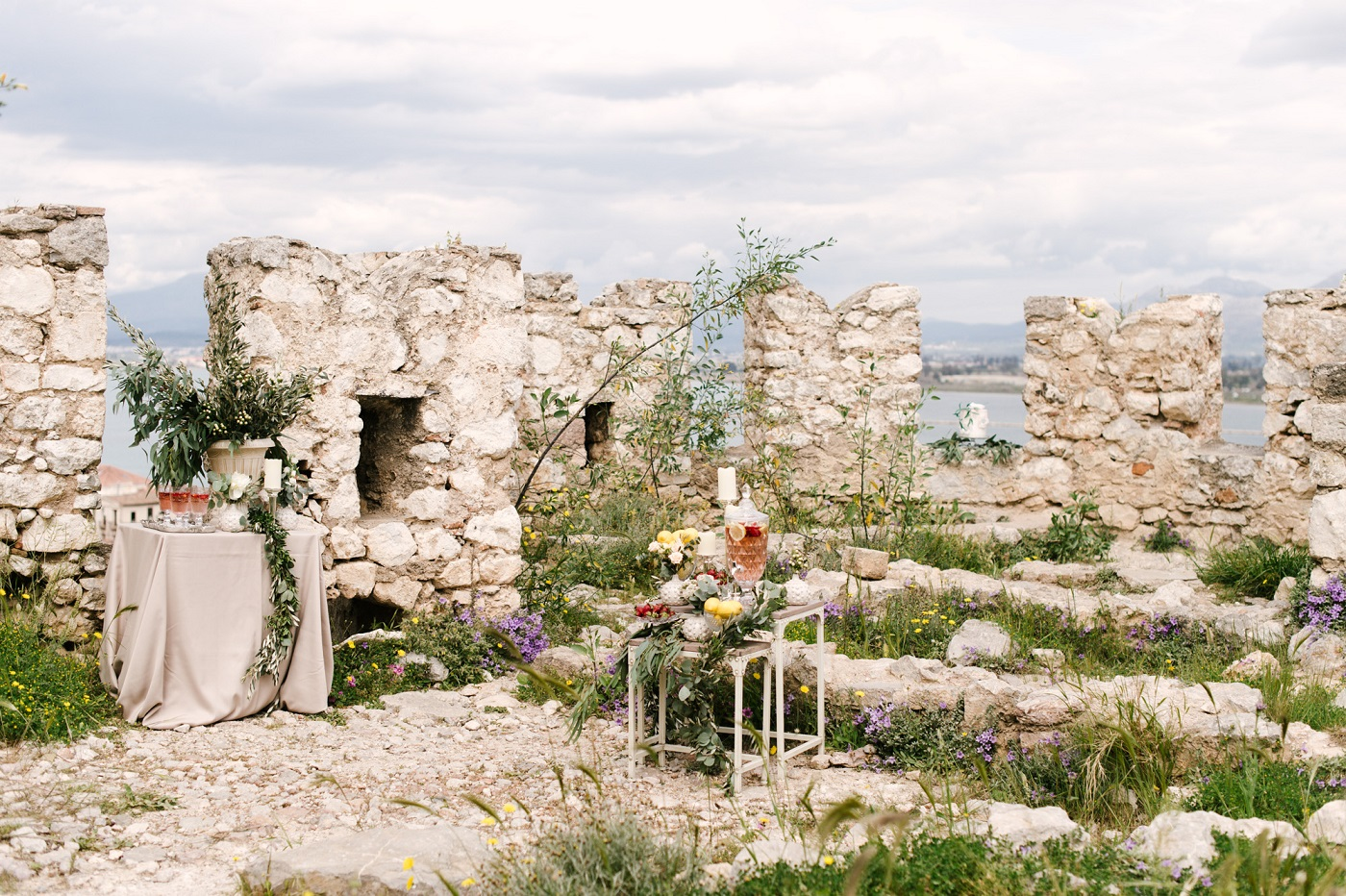 Boho Wedding Inspiration in Nafplio