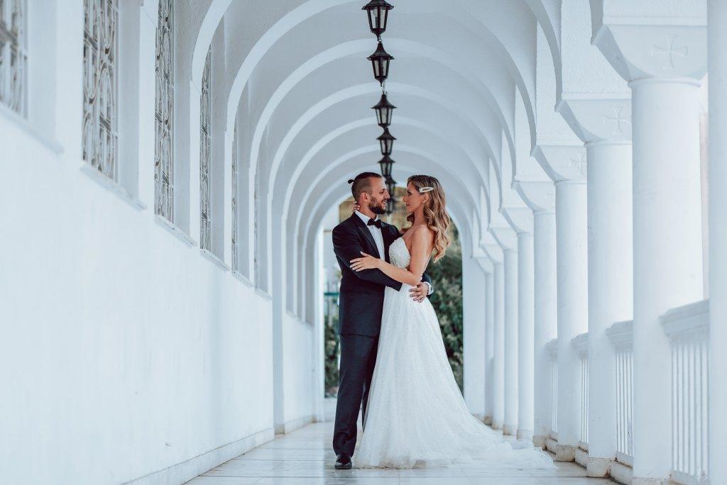 Ioanna Thanos Luxurious Purple Wedding in Athens 1