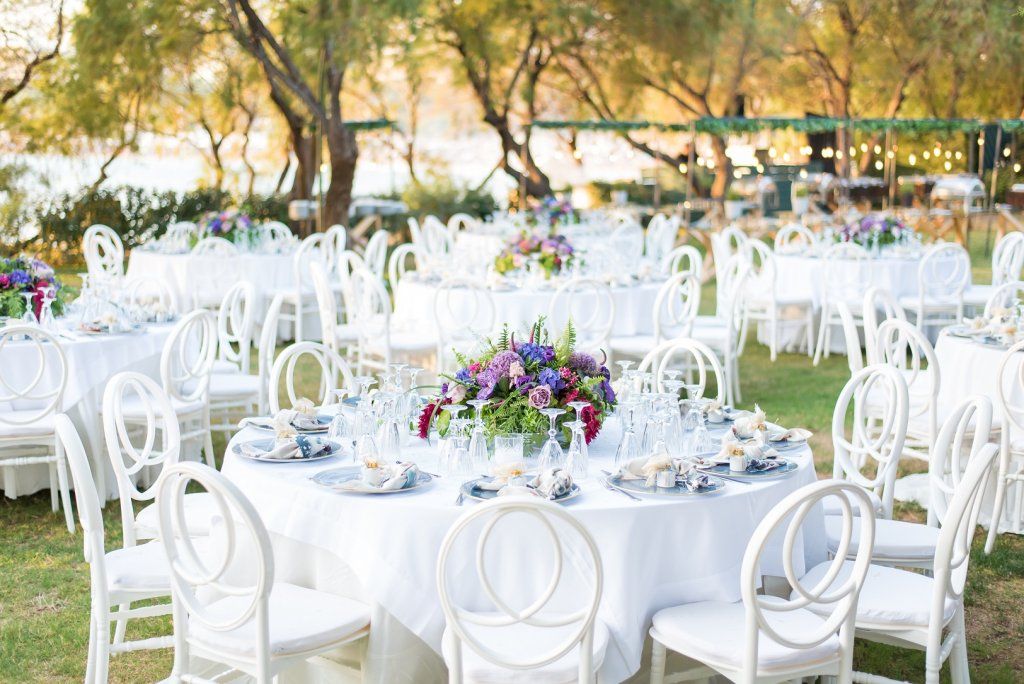 Luxurious Purple Wedding in Athens