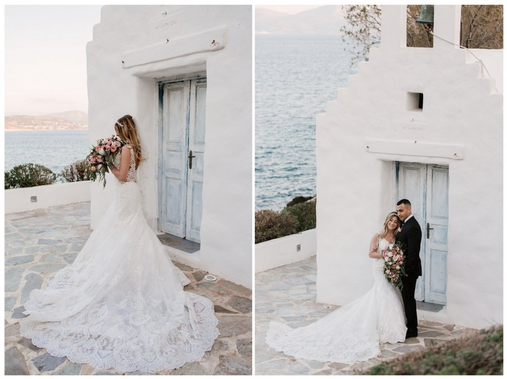 Niki & Omar Gold Wedding at Island Art & Taste by Tsveta Christou