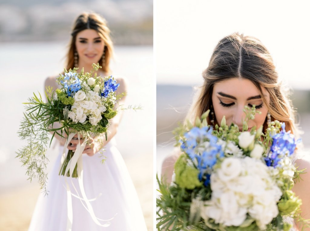 Whimsical Wedding Inspiration in Blue Hues