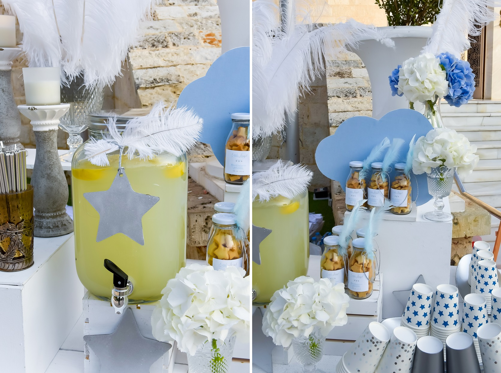 Glam Baptism at Ktima Liarou by Tsveta Christou