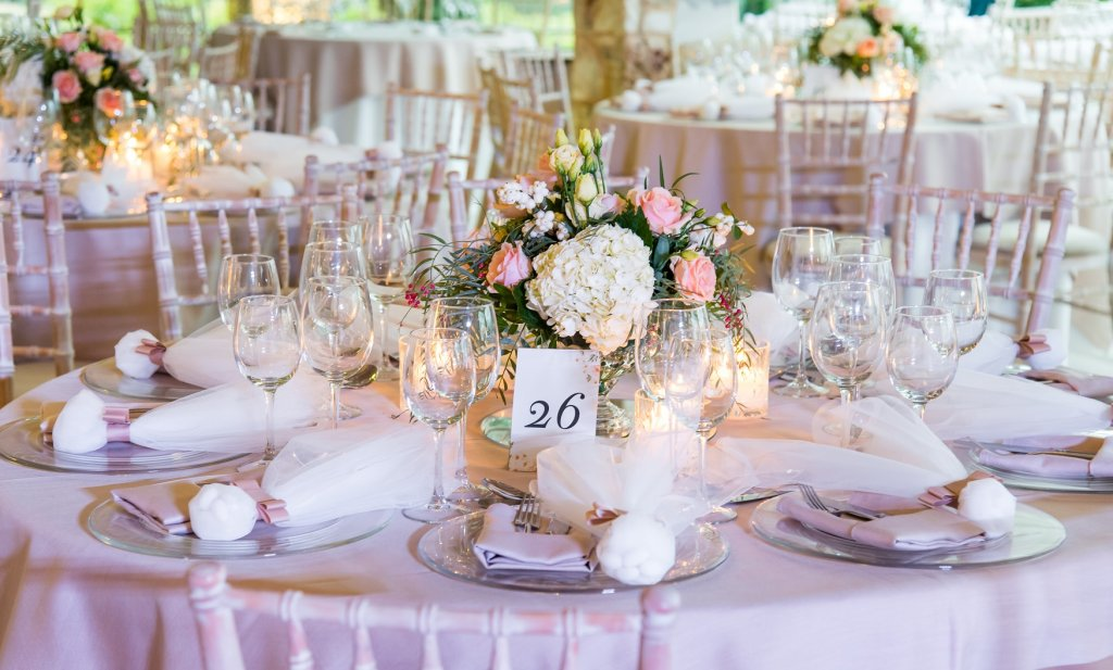 Glam Wedding Reception by Tsveta Christou
